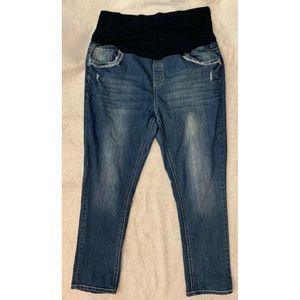 Tala Maternity Denim Straight Leg Jeans Size 3X